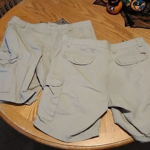 Two pairs of chaps cargo shorts